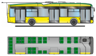 Electrobus and trolleybus «Electron» for Lviv